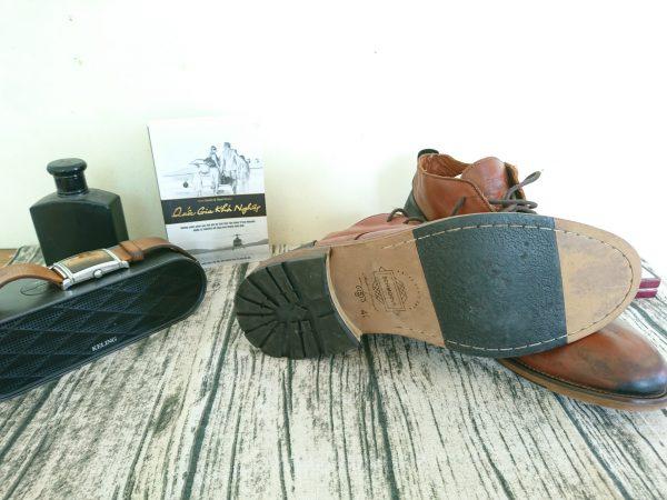 Giày da bò nam schmoove cổ trung 4