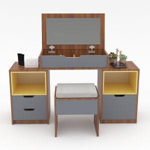 bàn trang điểm gỗ 030