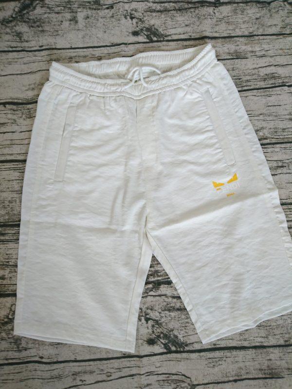 chuyên sỉ quần lửng nam vải đũi lưng thun 10