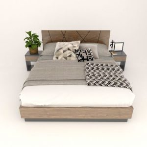 giường ngủ bằng gỗ 031