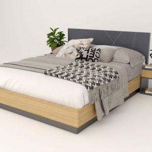 giường ngủ gỗ công nghiệp 032