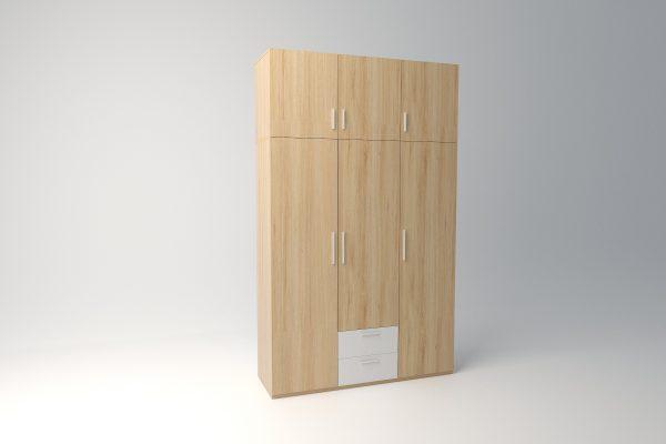 tủ áo bằng gỗ 045
