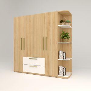 Tủ áo gỗ công nghiệp 046