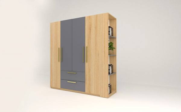 Tủ áo gỗ công nghiệp 050