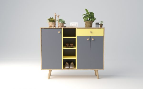 tủ giầy thông minh gỗ công nghiệp 038