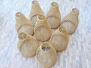 Chao đèn trang trí chao-den-coi-decor-D25x10xH25-1