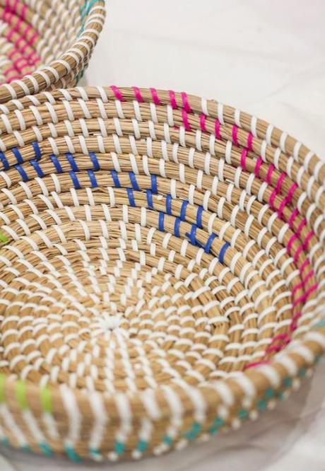 Bát đựng đồ handmade trang trí - bát cói Decor