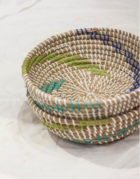 Bát đựng đồ handmade trang trí - bát cói Decor 1