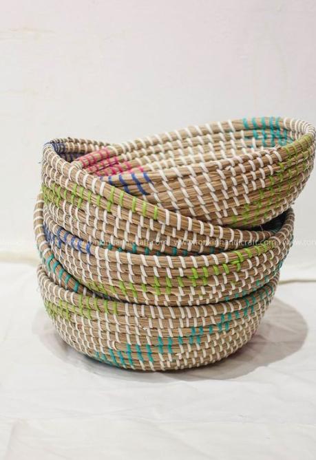 Bát đựng đồ handmade trang trí - bát cói Decor 2