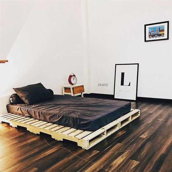 Giường Pallet 1m6 x 2m Decor Phòng Ngủ 2