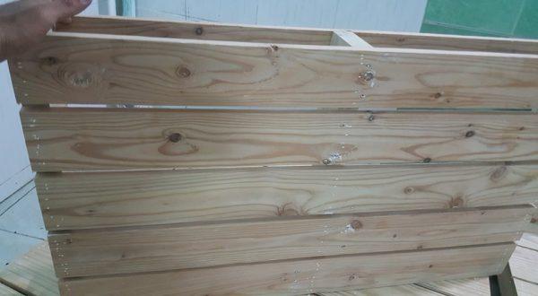 Giường pallet gỗ 5