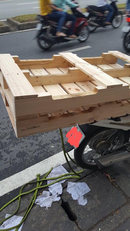 Giường pallet gỗ 7