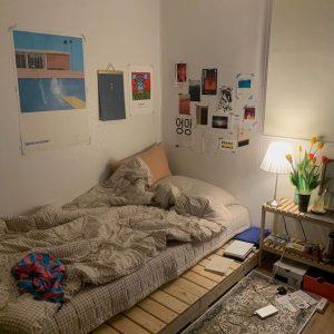 Giường Pallet 1m4 x 2m Decor Phòng Ngủ 1