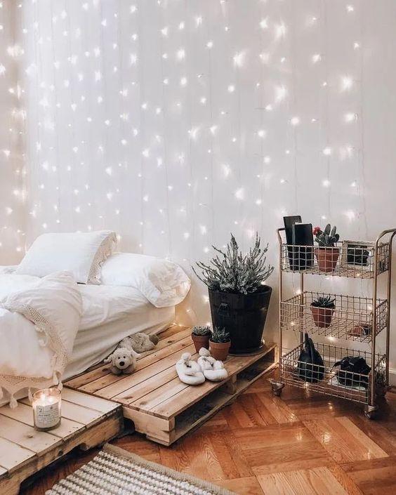 Giường Pallet 1m8 x 2m Decor Phòng Ngủ 1