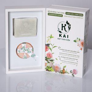 """Xà Phòng Organic 100% - Xà Phòng Hữu Cơ KAI """"Khử Mùi – Giảm Thâm"""" 1"""