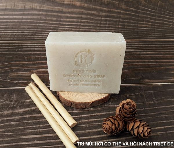 """Xà Bông Hữu Cơ KAI - Xà Bông Organic 100% """"Khử Mùi – Giảm Thâm"""" 1"""