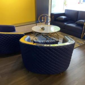 Bộ Sofa Gỗ Sồi Hiện Đại Cách Điệu Sang Trọng 1