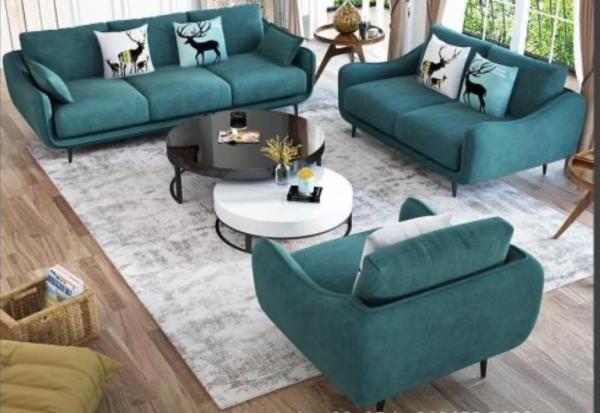 Bộ Sofa Khung Gỗ Sồi Phong Cách Hiện Đại 1