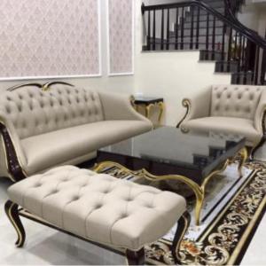 Bộ Sofa Phòng Khách Gỗ Tần Bì Sang Trọng 1