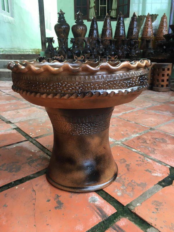 Chậu Gốm Trồng Cây Decor Sân Vườn Size 45 - 50 - 55 cm 12