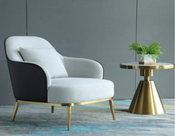 Ghế Sofa Đơn Gỗ Sồi Hiện Đại Cách Điệu 1