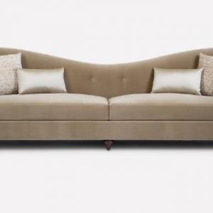 Ghế Sofa Khung Gỗ Sồi Cách Điệu 1
