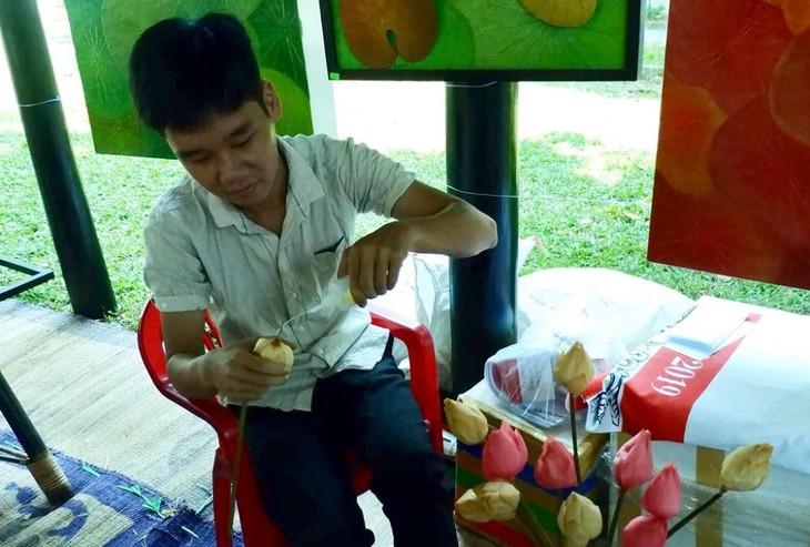 Nón lá sen – Một sản phẩm thủ công độc đáo ở xứ Huế - ảnh 5