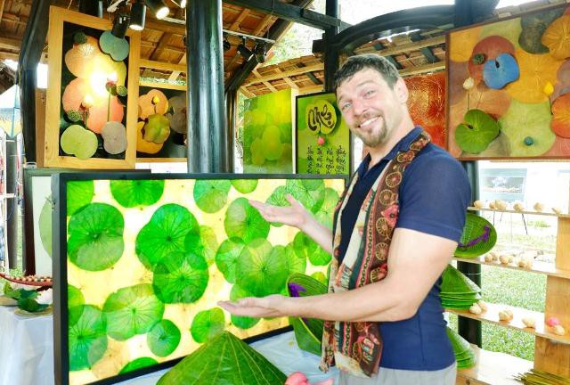 Nón lá sen – Một sản phẩm thủ công độc đáo ở xứ Huế - ảnh 3