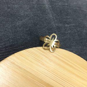 Nhẫn Handmade Hình Hoa Sao 1