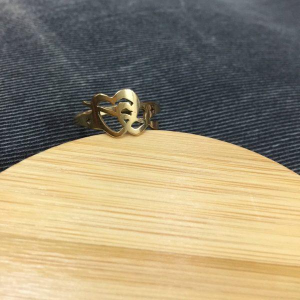 Nhẫn Handmade Tình Yêu Sét Đánh 1