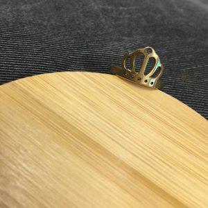 Nhẫn Hình Vương Miện Handmade 1