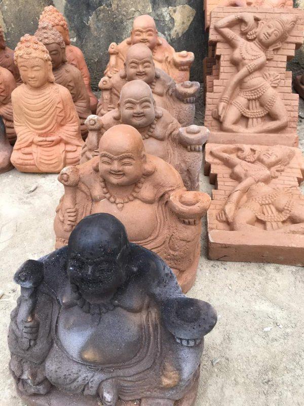 Tượng Gốm Đất Nung Phật Di Lặc 1