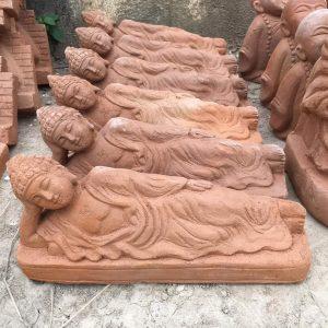 Tượng Phật Nằm Gốm Đất Nung 1