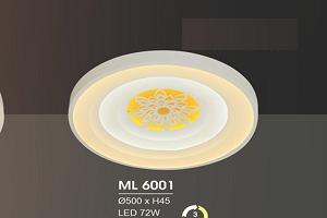 ĐÈN ỐP TRẦN HIỆN ĐẠI ML6001