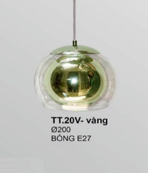 Đèn thả thủy tinh T20V