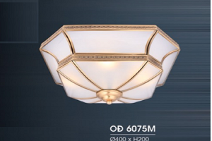 ĐÈN ỐP TRẦM ĐỒNG OĐ6075M