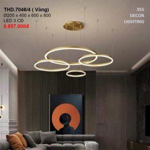 ĐÈN CHÙM LED THD7046-4