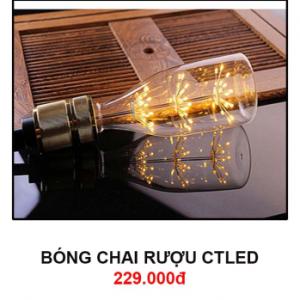 Bóng đèn chai rượu CTLed
