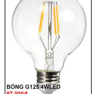 Bóng đèn G125 4W Led