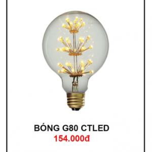 Bóng đèn G80 CTLed