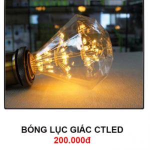 Bóng đèn lục giác CTLed