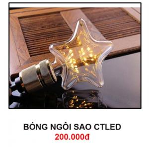 Bóng đèn ngôi sao CTLed