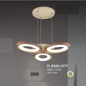 Đèn chùm hiện đại TL8626/3CF
