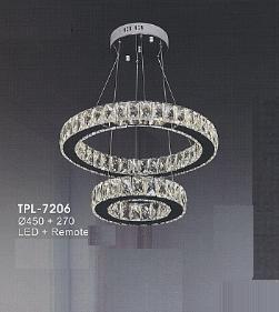 Đèn chùm hiện đại TPL7206