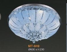 Đèn ốp pha lê MV949