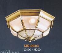 Đèn ốp trần đồng md093