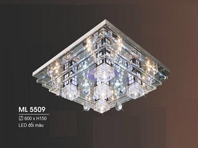 Đèn ốp trần pha lê ML5509