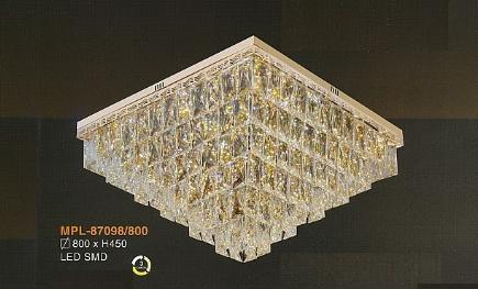 Đèn ốp trần pha lê MPL87098/800
