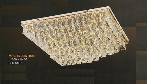 Đèn ốp trần pha lê MPL87098/1000