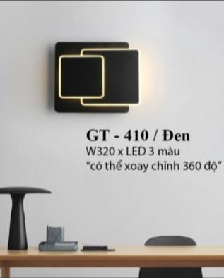 Đèn tường GT410/Đen